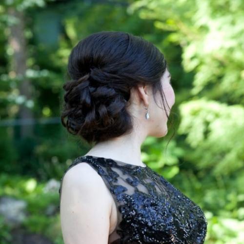 NY Prom hair stylist